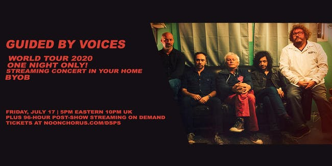 Guided By Voices Web Concert