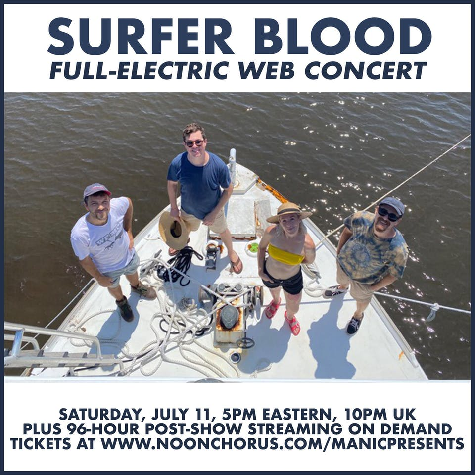 Surfer Blood (live stream)