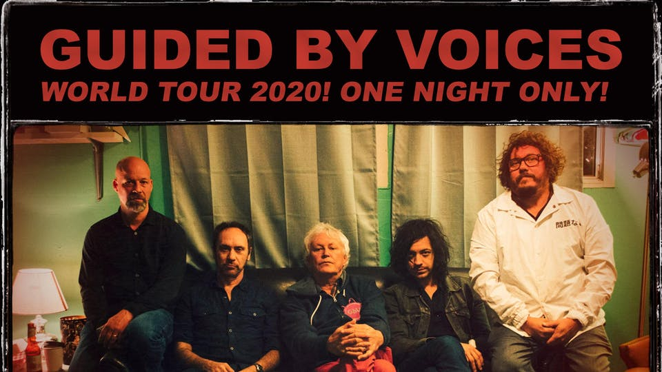 Guided by Voices (live stream)