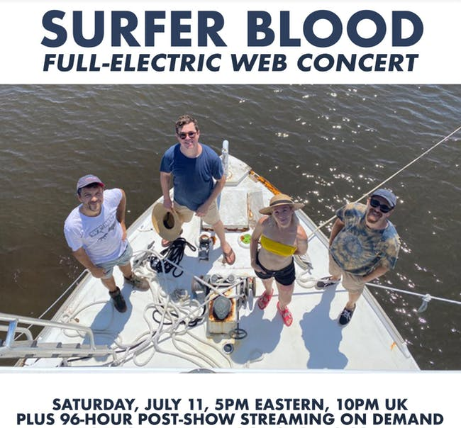 Surfer Blood Full-Electric Web Concert