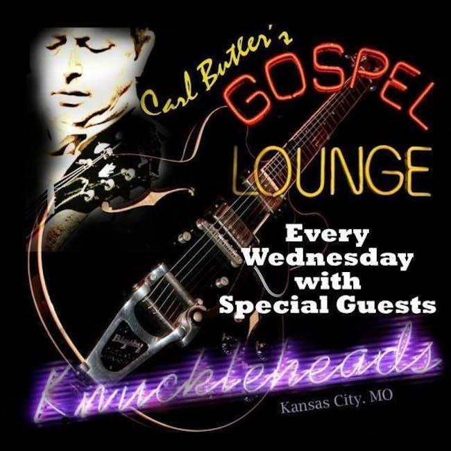 Carl Butler's Gospel Lounge Tonight's guest Sara Morgan