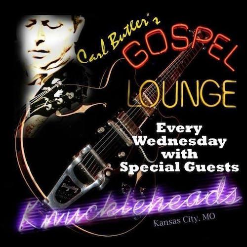 Carl Butler's Gospel Lounge tonight's guest Billy Ebeling