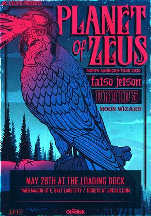 Planet of Zeus, Fatso Jetson, Druids, Moon Wizard