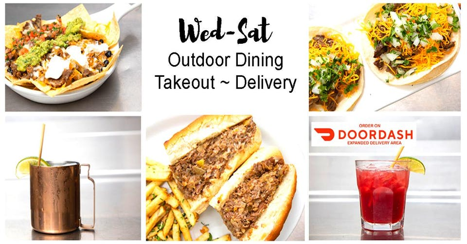Open For Take-out, Delivery, and Outdoor Dining - Happy Hour 7-9pm