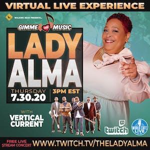 FREE LIVE STREAM with Lady Alma