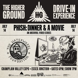 Dinner and a Movie: a Phish Archival Video Series Drive-In