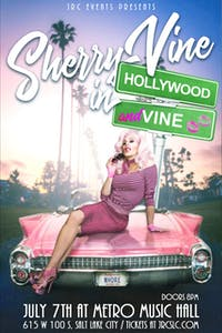 Sherry Vine performs Hollywood & Vine *Seated Event*