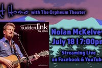 At Home with The Orpheum Theater: Nolan McKelvey