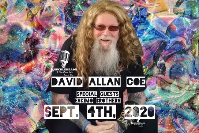 DAVID ALLAN COE with special guest the Eskimo Brothers