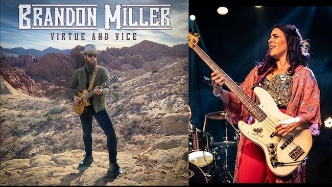 Brandon Miller Album Release Party with special guest Danielle Nicole