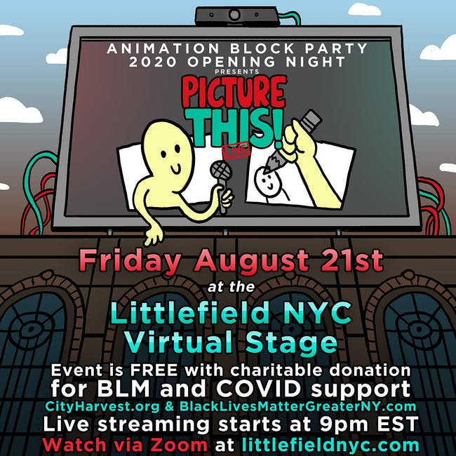 Animation Block Party 2020 Opening Night presents Picture This!