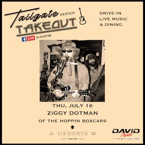 Ziggy Dotman (of The Hoppin' Boxcars) - Tailgate Takeout Series
