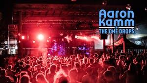 MOVED TO WILDWOOD: Aaron Kamm & The One Drops