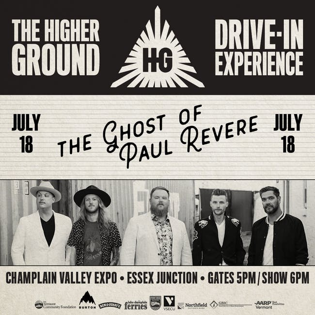 The Ghost of Paul Revere at the Drive-In