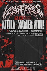 VENGEANCE 2021: ATTILA / XAVIER WULF