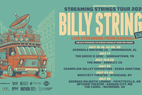 Billy Strings' Streaming Strings Tour Simulcast