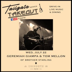 Geremiah & Tom (of Brother Starling) - Tailgate Takeout Series