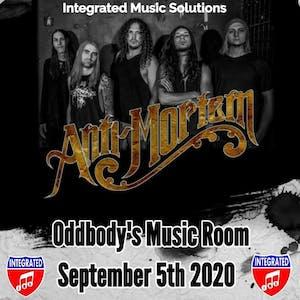 ANTI-MORTEM LIVE AT ODDBODYS MUSIC ROOM