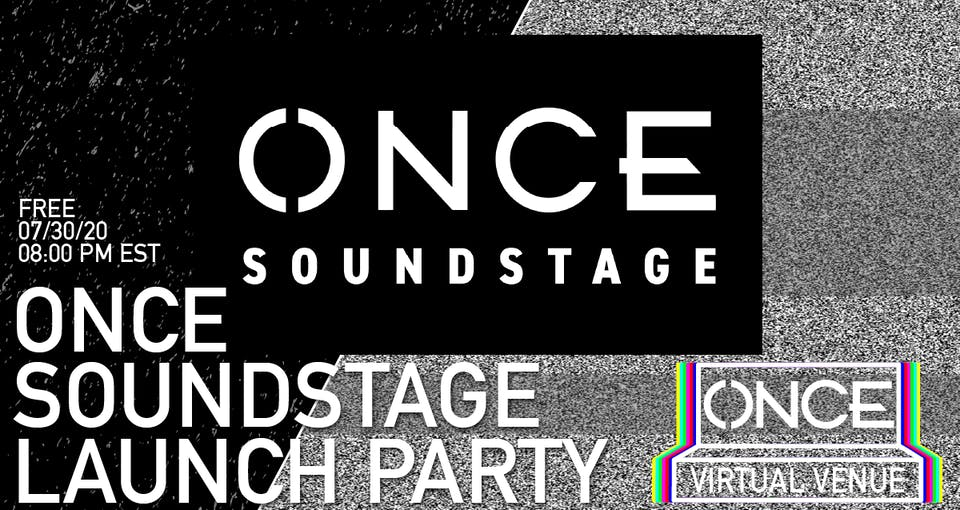 ONCE Soundstage Launch Party x OVV