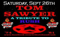 An Evning With Tom Sawyer At Rush Tribute Show at Brauer House!