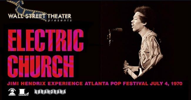 FILM : Jimi Hendrix' Electric Church
