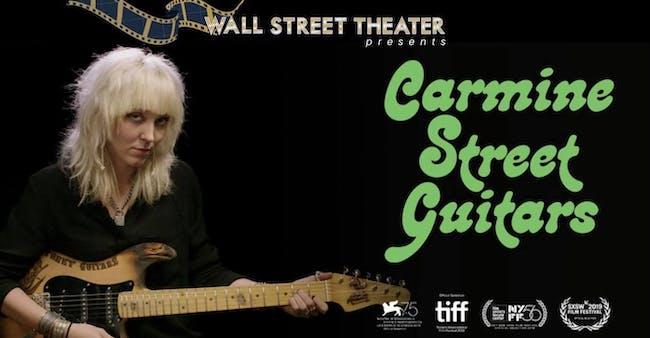 FILM : Carmine Street Guitars