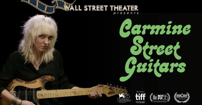 FILM : Carmine Street Guitars