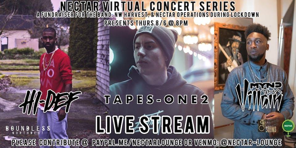 NVCS  presents Tapes-One2, Mr Hi-Def, Mynd Tha Villain