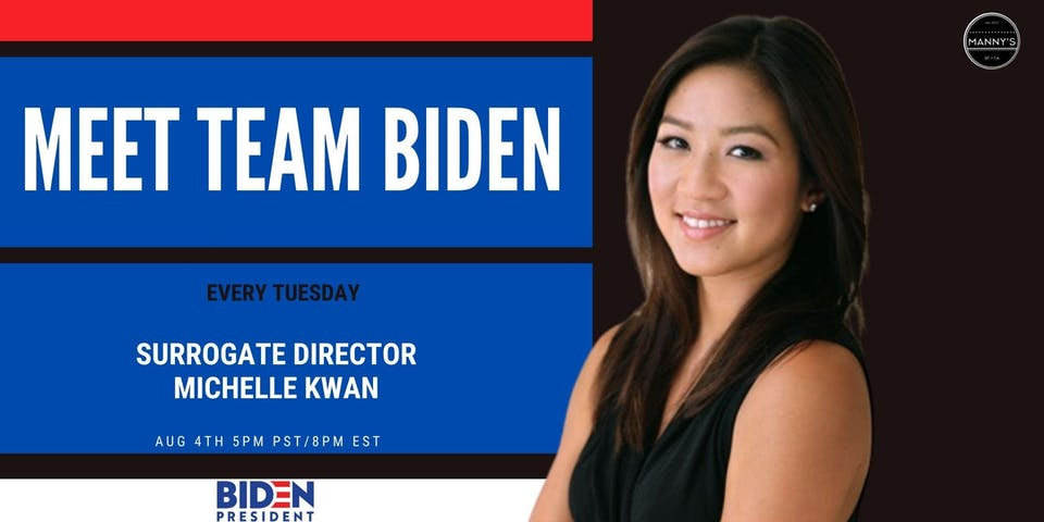 Meet Team Biden: Michelle Kwan - Former Olympian and Surrogate Director