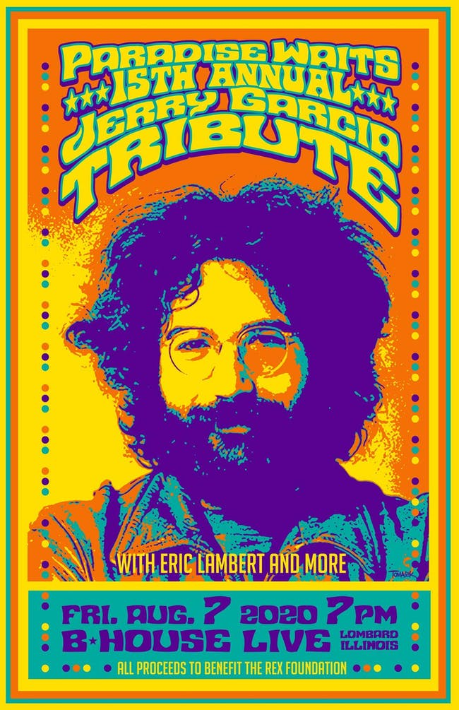 PW's 15th Annual Jerry Garcia Tribute - Rex Foundation Benefit