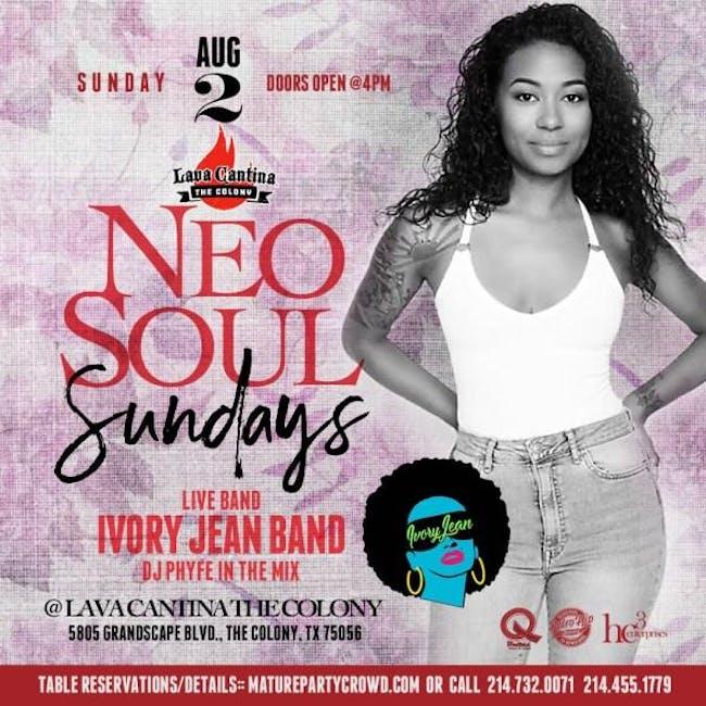 NEO SOUL SUNDAYS featuring Ivory Jean