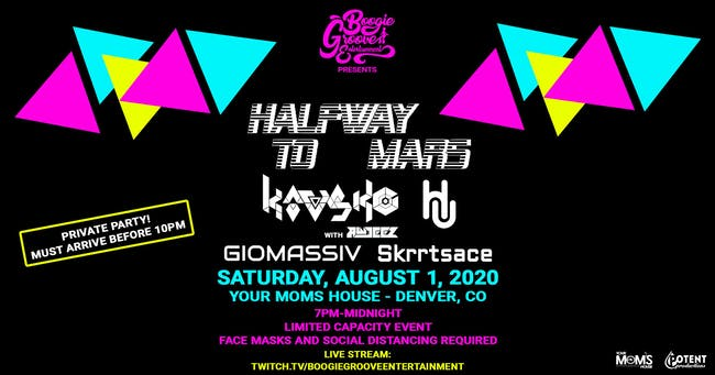 Halfway To Mars w/ Kavsko | HU | Giomassive | Skrrtsace