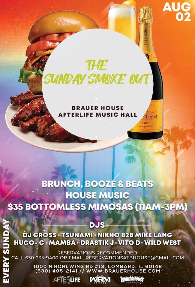 The Sunday Smoke Out - Brunch, Booze & Beats
