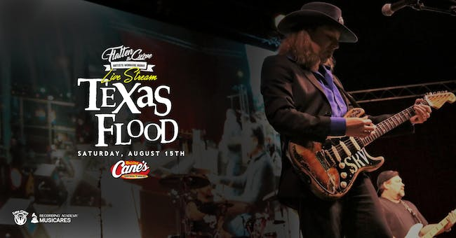 Texas Flood - Stevie Ray Vaughan Tribute [Limited Seating and Live Stream]