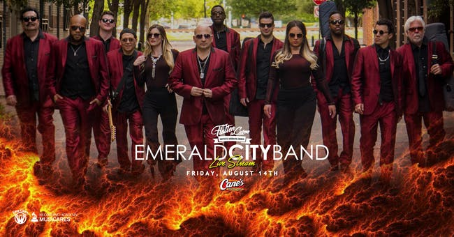 Emerald City Band [Limited Seating and Live Stream]