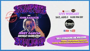 Splintered Sunlight ft. John Kadlecik FULL BAND LIVE ON STAGE Webcast