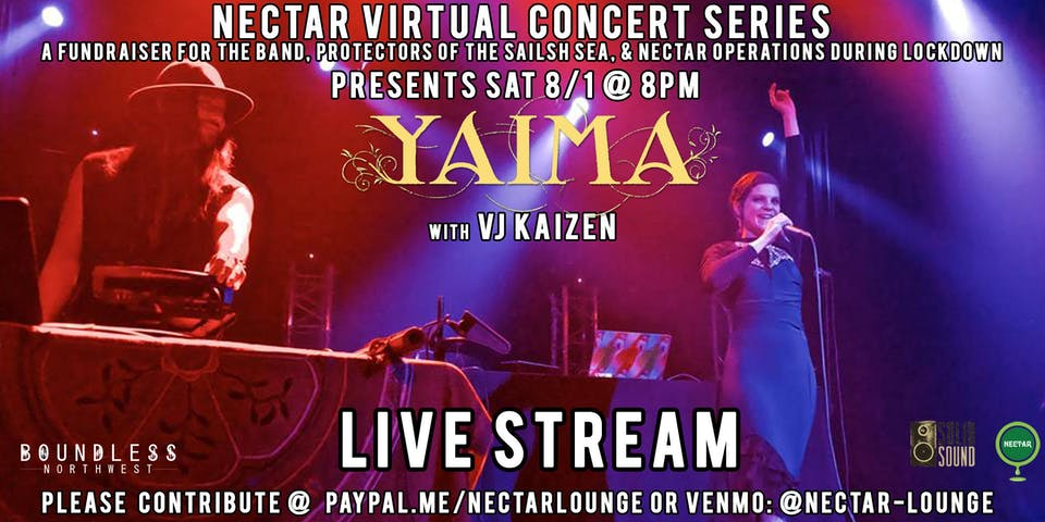 Nectar Virtual Concert Series presents YAIMA (Live Stream)