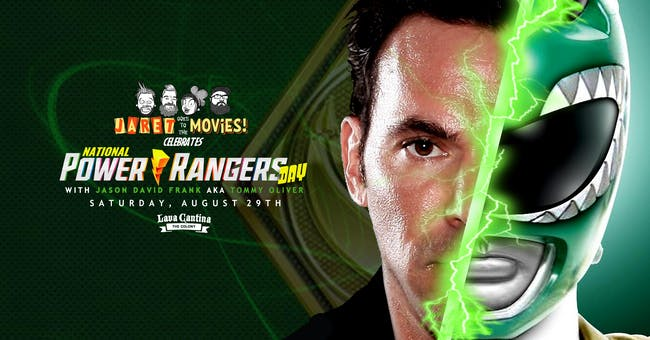 Mighty Morphin' Power Rangers with the Green Ranger, Jason David Frank!