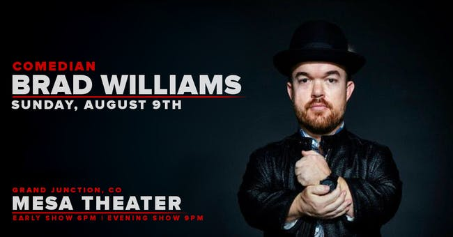 Comedian: Brad Williams (Evening Show)