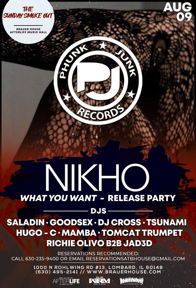 The Sunday Smoke Out & What You Want - Nikho Record Release
