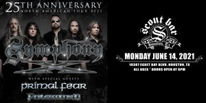 Symphony X - 25th Anniversary North American Tour 2021