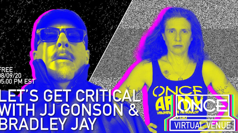 Let's Get Critical with Bradley Jay  x ONCE VV