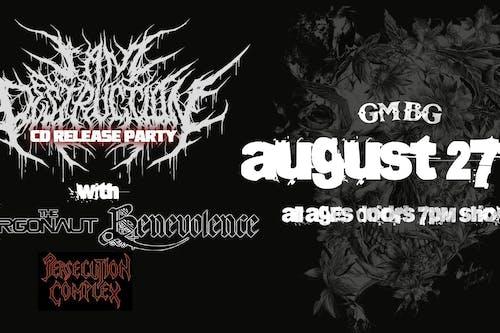 I Am Destruction - CD Release Party