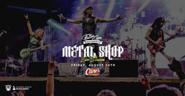 Metal Shop [Limited Seating and Live Stream]