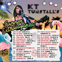 KT Tunstall Re-Scheduled to April 7th 2021