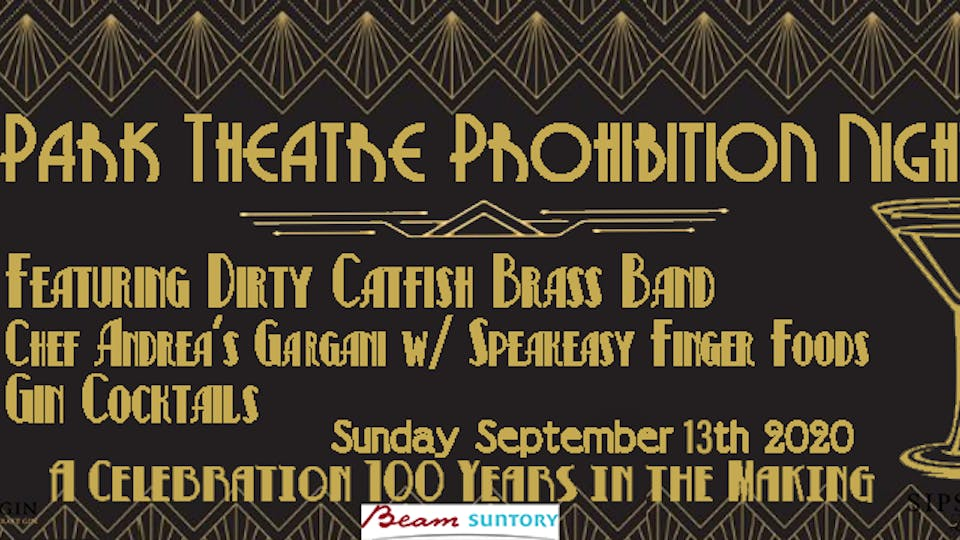 Prohibition at the Park w/ Food, Cocktails and Dirty CatFish Brass Band