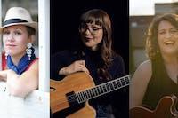Jazz Voices: Amber Epp, Jocelyn Gould & Heitha Forsyth