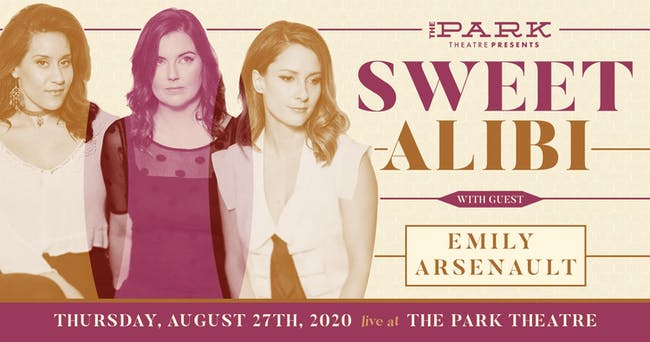 Sweet Alibi with guest Emily Arsenault