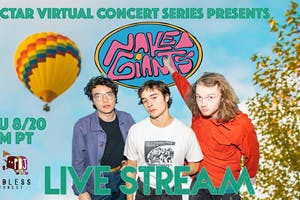 "NVCS presents NAKED GIANTS (live stream ""The Shadow"" album release party)"