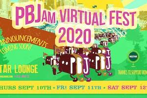 PBJam VIRTUAL FEST 2020!! (streaming live SEP 10th-12th)